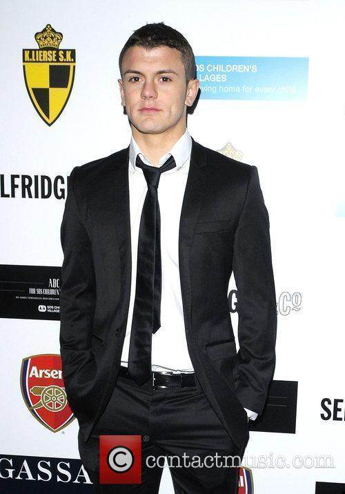 Jack Wilshere arriving at ABC for SOS ball....