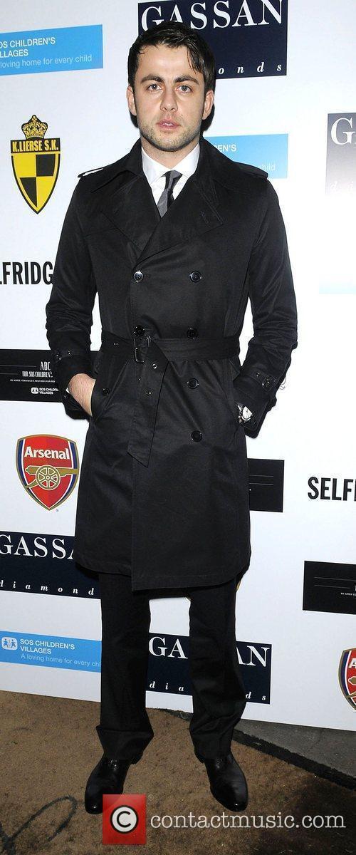 Arsenal Goalkeeper Lukasz Fabianski arriving at ABC for...