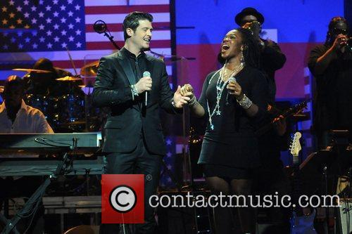 Robin Thicke and India Arie 2