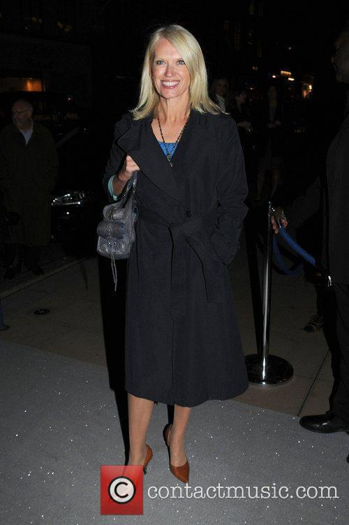Anneka Rice Jerry Hall's Art Collection private party...