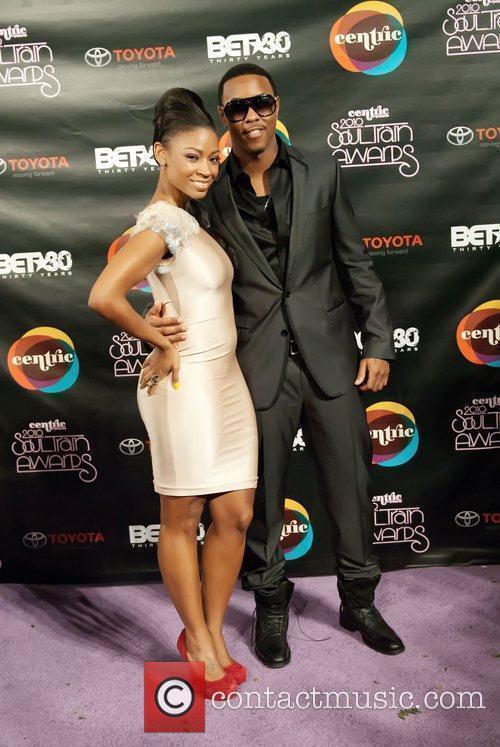 D. Woods, Jeremiah Soul Train Awards held at...