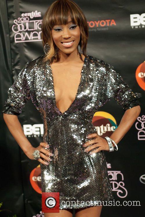 Dondria Soul Train Awards held at the Cobb...