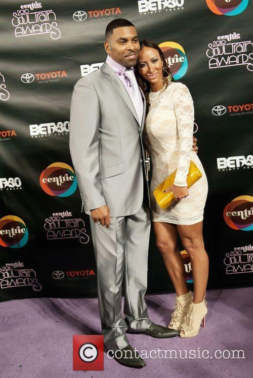 Ginuwine and Sole Soul Train Awards held at...