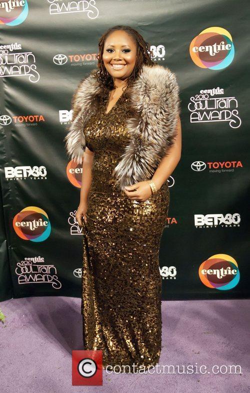 Lalah Hathaway Soul Train Awards held at the...