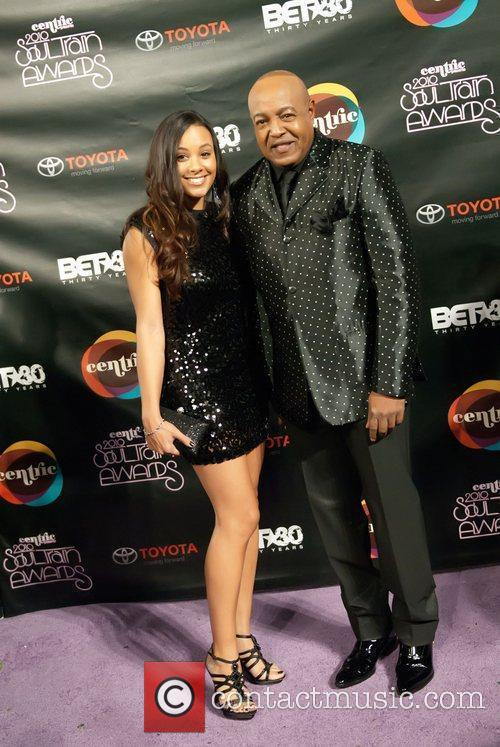 Peabo Bryson and guest Soul Train Awards held...