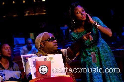Cee Lo Green and Fatima Soul Train Awards...