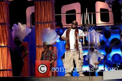Cee Lo Green Soul Train Awards pre-show at...