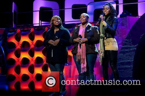 SWV Soul Train Awards pre-show at Cobb Energy...