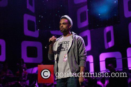 Bilal Soul Train Awards Rehearsal at Cobb Energy...