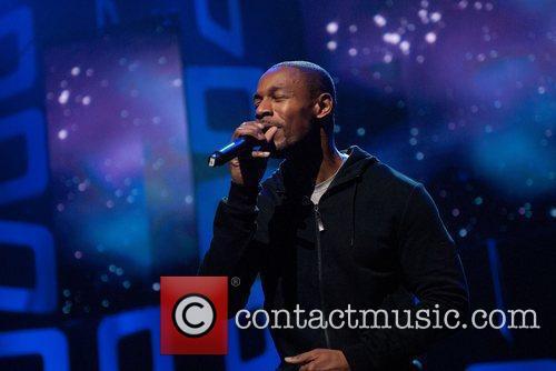 Singer/songwriter Tank Soul Train Awards Rehearsal at Cobb...