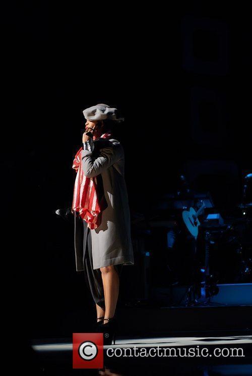 Erykah Badu Soul Train Awards held at the...