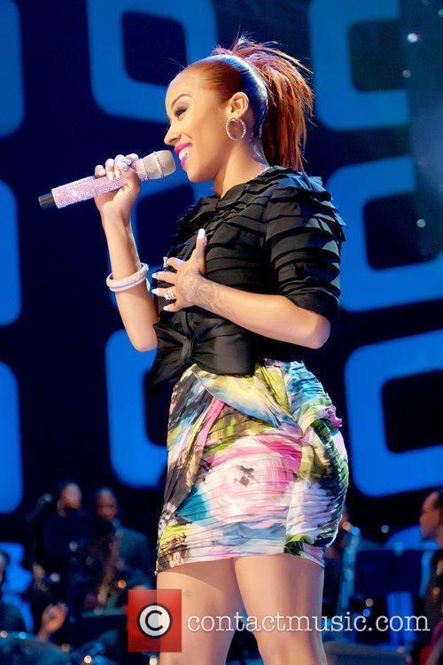 Keyshia Cole Soul Train Awards held at the...