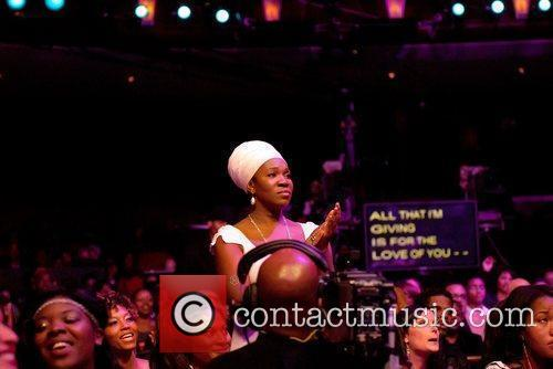 India Arie Soul Train Awards held at the...