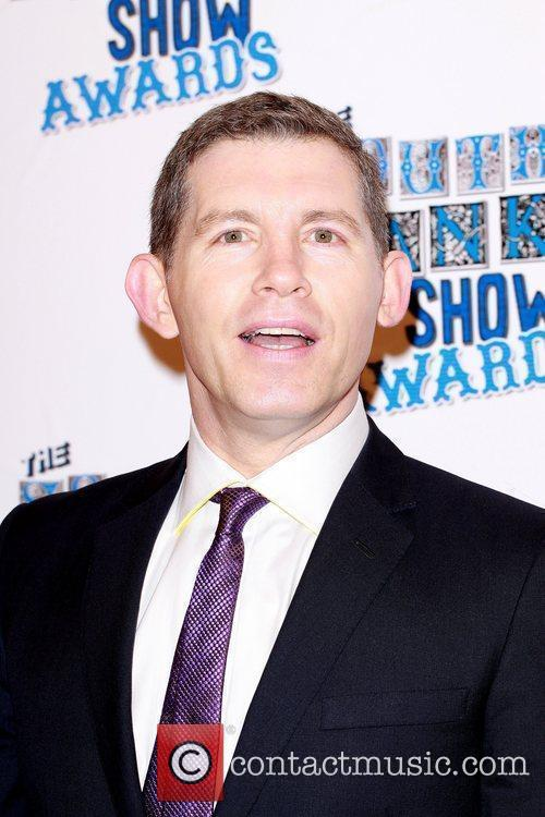 Lee Evans The South Bank show awards red...