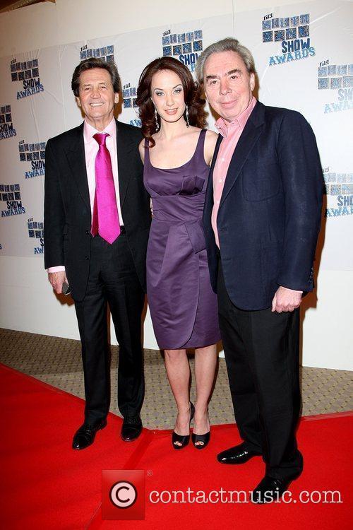 Melvyn Bragg, Sierra Boggess and Andrew Lloyd Webber...