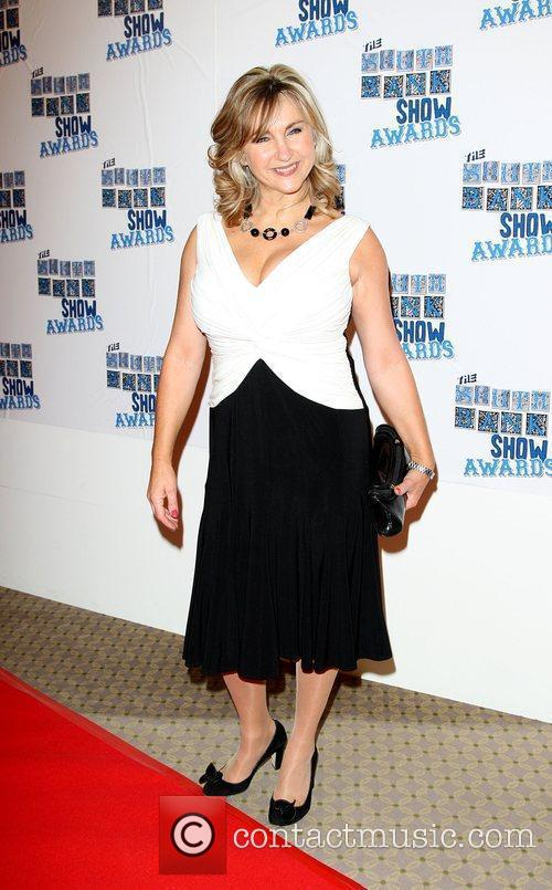 Lesley Garrett The South Bank show awards red...