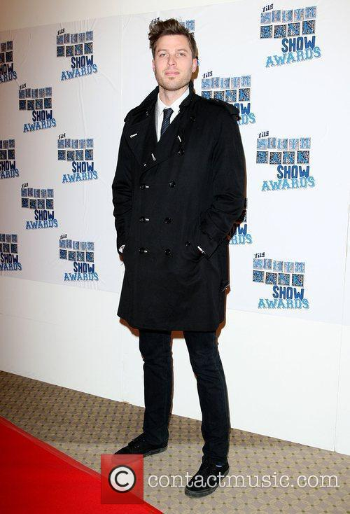 Rick Edwards The South Bank show awards red...
