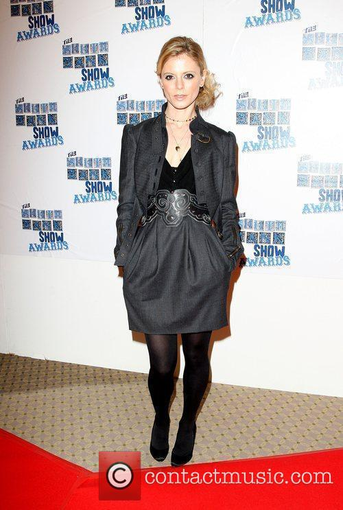 Emilia Fox The South Bank show awards red...