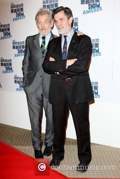 Sir Ian McKellen The South Bank show awards...