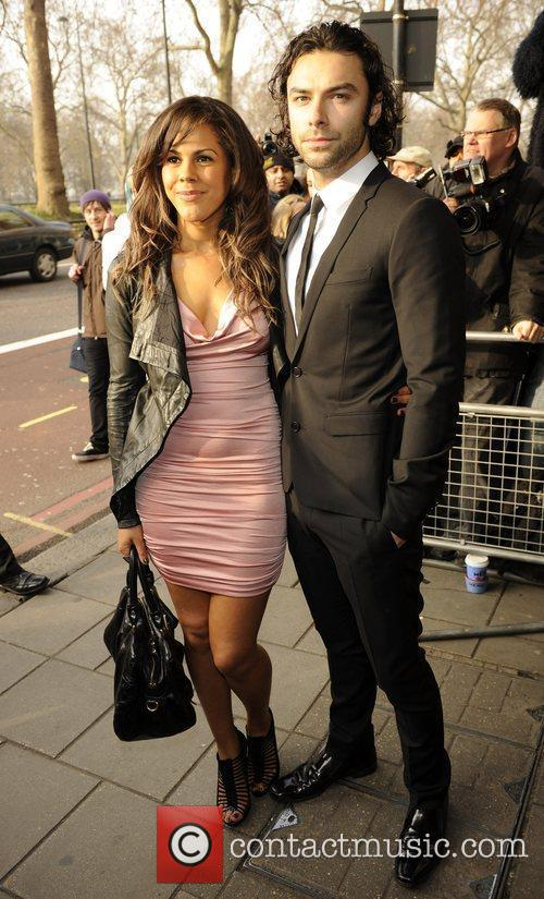 Aiden Turner and Lenora Crichlow The South Bank...