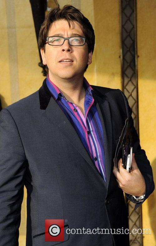 Michael McIntyre The South Bank show awards held...