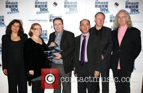 Comedy winners for 'The Thick of It' presented...