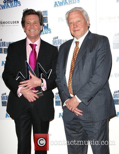 Melvyn Bragg winner of Outstanding Achievemnt award presented...