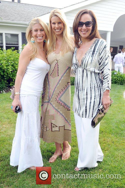 Jill Martin, Beth Ostrosky and Rosanna Scotto...