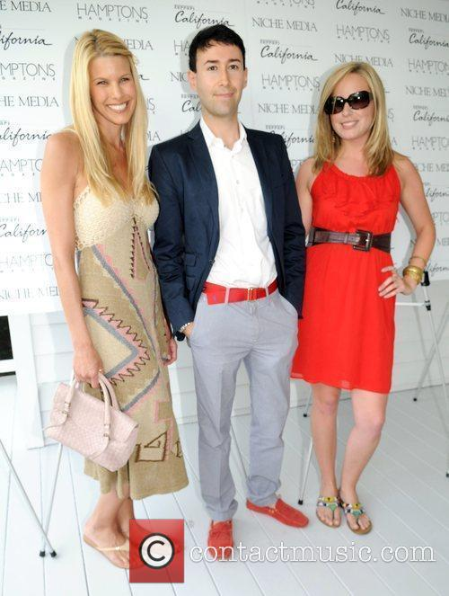 Beth Ostrosky, Matthew Sardi and Laura Fisher attends...