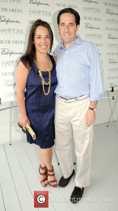 Gotham Editor-in-Chief Samantha Yanks with husband David Yanks...