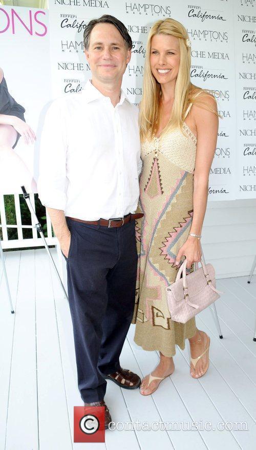 Jason Binn and Beth Ostrosky  attends Haley...