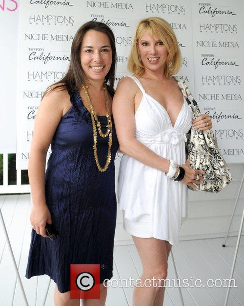 Gotham Editor-in-Chief Samantha Yank and Ramona Singer attends...