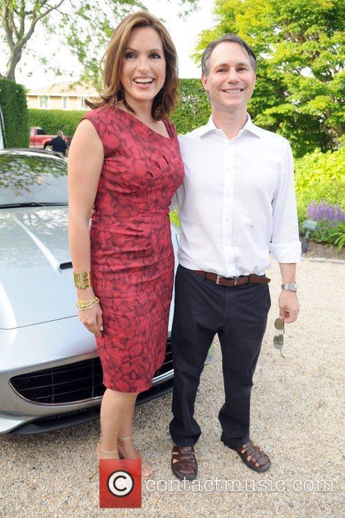 Mariska Hargitay and Jason Binn attends Haley &...