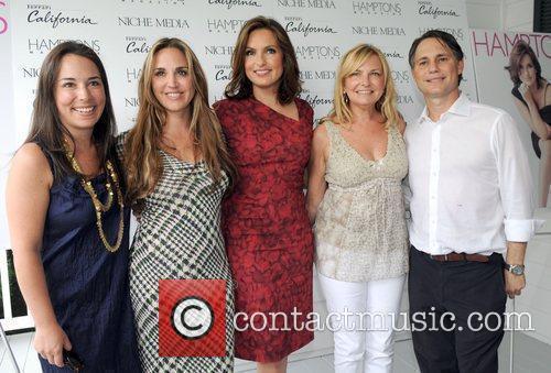 Gotham Editor-in-Chief Samantha Yank, Andrea Correale, Mariska Hargitay...