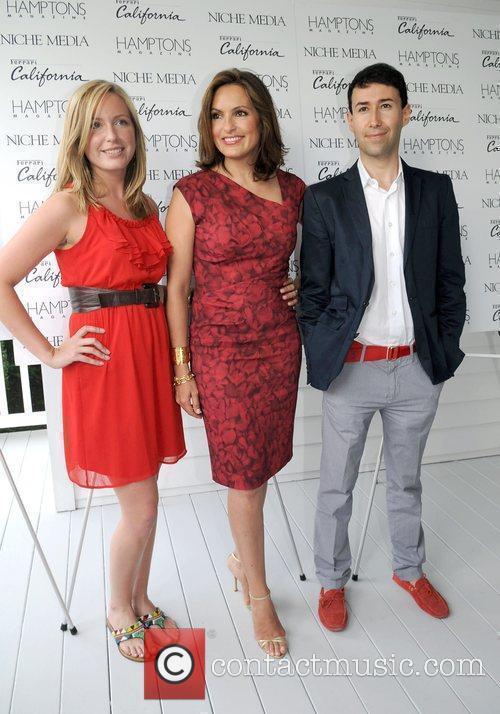 Mariska Hargitay, Matthew Sardi and Laura Fisher attends...