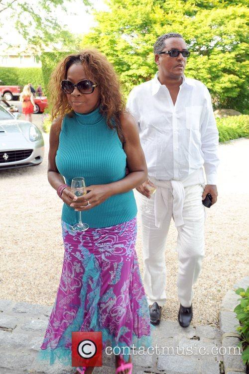 Star Jones and Herb Wilson  attends Haley...