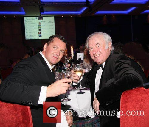 Craig Fairbrass and Jimmy Tarbuck Sparks Winter Ball...