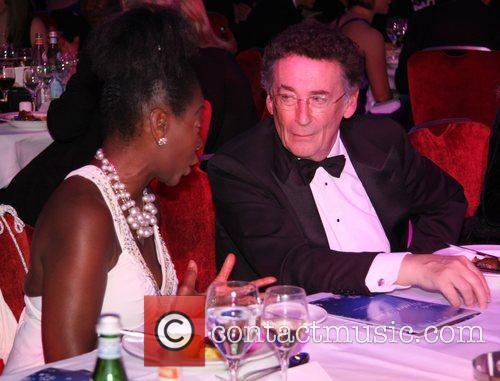Floella Benjamin and Robert Powell Sparks Winter Ball...