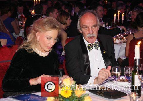HRH Princess Michael of Kent and Roger Uttley...