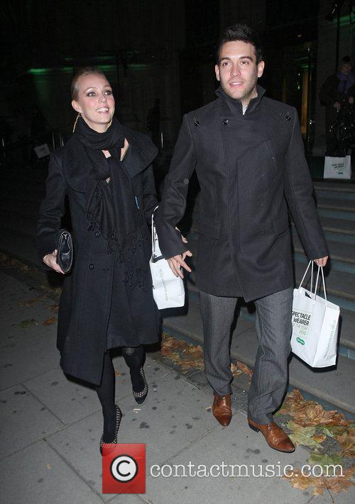 Camilla Dallerup and Kevin Sacre,  at the...