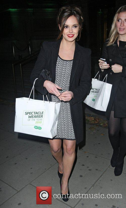 Hannah Tointon,  at the Spectacle Wearer Of...