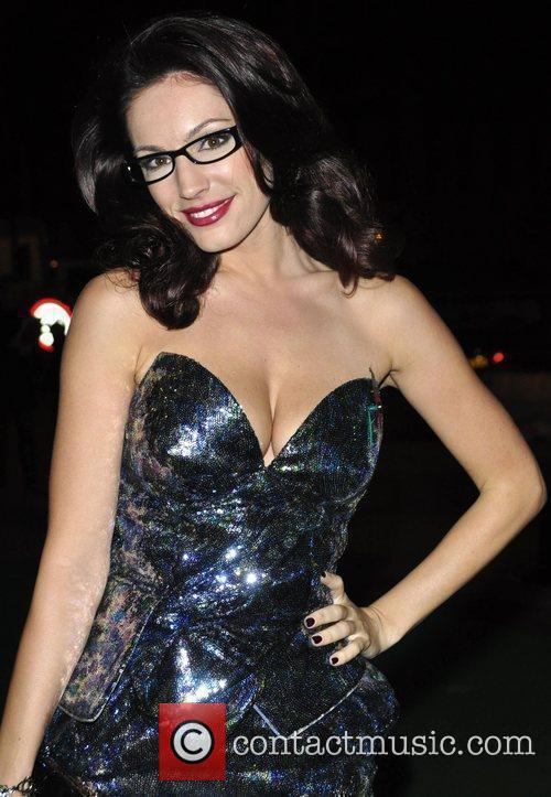 Kelly Brook at the Spectacle Wearer Of The...