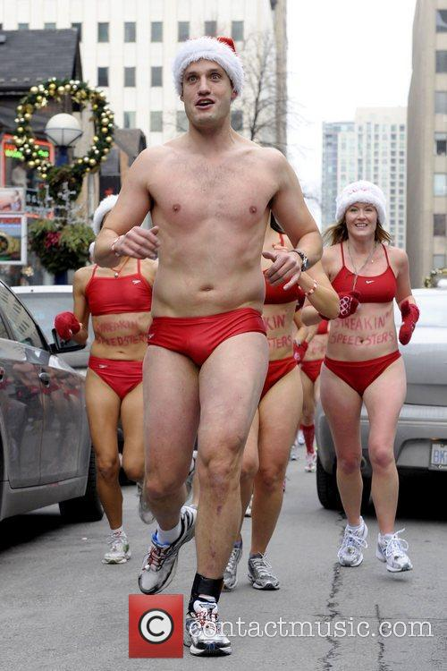 The 6th Annual Toronto Santa Speedo Run at...