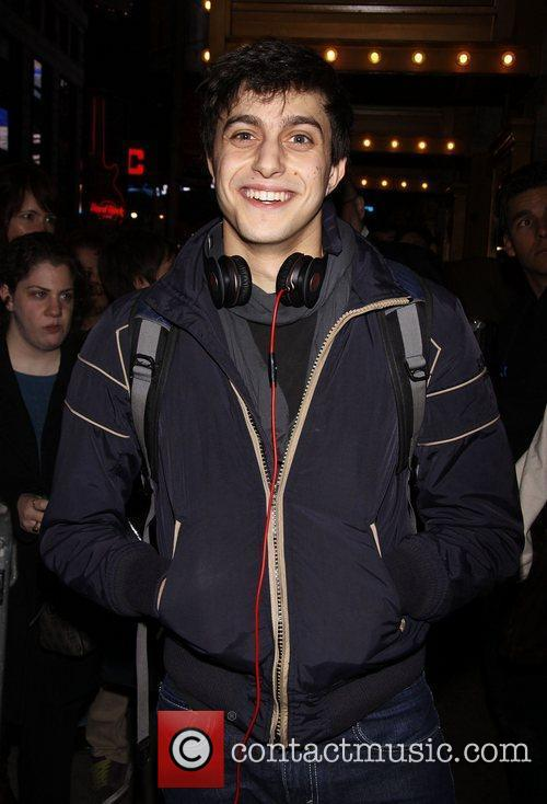 Gideon Glick First preview performance of the Broadway...