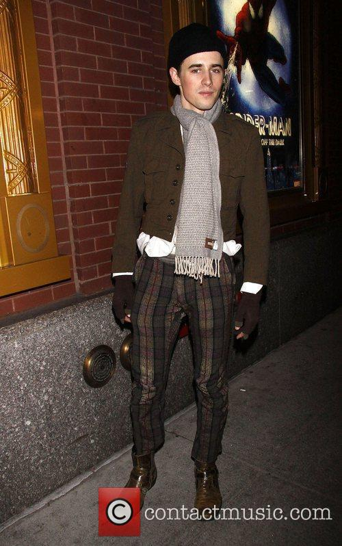 Reeve Carney First preview performance of the Broadway...