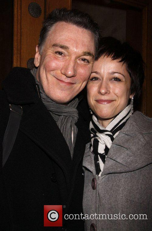Patrick Page and Paige Davis First preview performance...