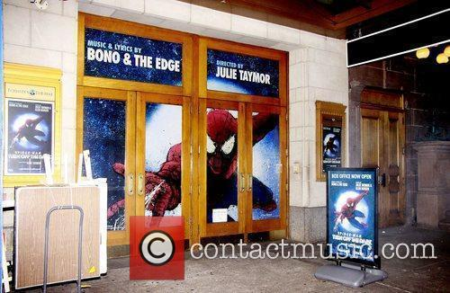 Bono, Julie Taymor, Spider Man and The Edge 6