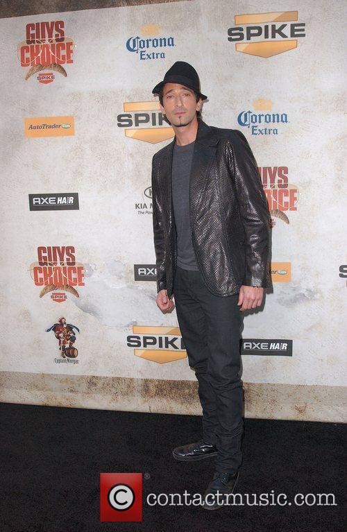Adrien Brody Spike TV's 'Guys Choice Awards' at...