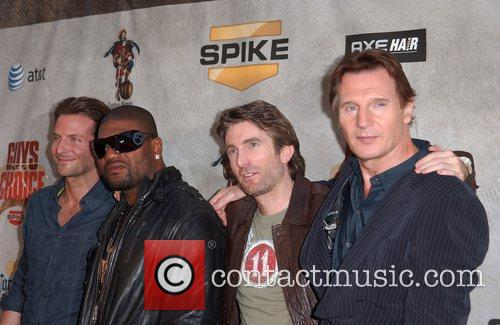 Bradley Cooper, Quinton Jackson aka Rampage, Sharlto Copley...