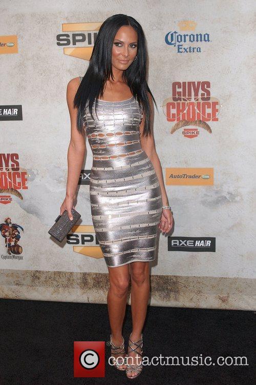 Kenda Perez Spike TV's 'Guys Choice Awards' at...